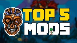 Top 5 Terraria Mods - The Ultimate Mods for Terraria 1.3.5!