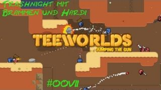 Trashnight mit Br4mm3n und Hardi #007 [Deutsch/Full-HD] - Teeworlds